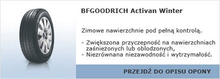 BFGOODRICH Activan Winter