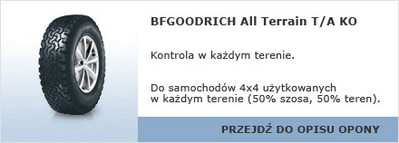 BFGOODRICH All Terrain T/A KO