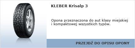 KLEBER Krisalp 3