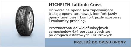 Michelin Latitude Cross
