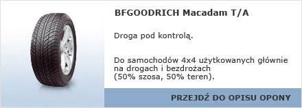 BFGOODRICH Macadam T/A