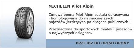 MICHELIN Pilot Alpin