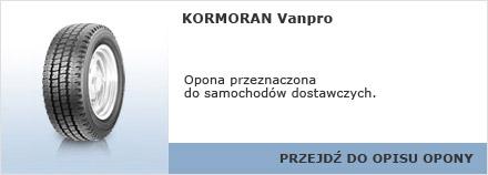 KORMORAN Vanpro