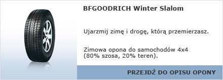 BFGOODRICH Winter Slalom